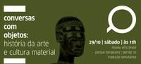 Conversas com objetos no Museu Afro Brasil - capa