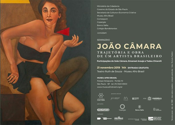 Transmissão AO VIVO: Encontro com João Câmara: Trajetória e Obra de um Artista Brasileiro - 21/11
