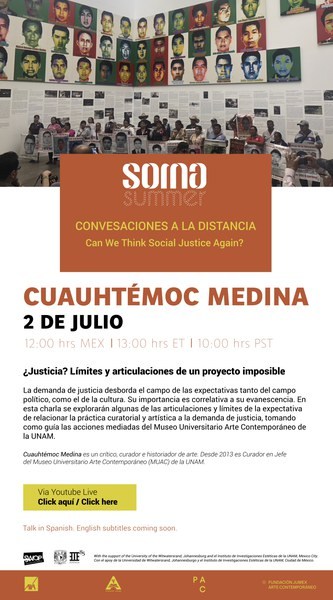 Conversaciones a la Distancia | Cuauhtémoc Medina - 02/07/2020