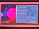 The new museum definition should...