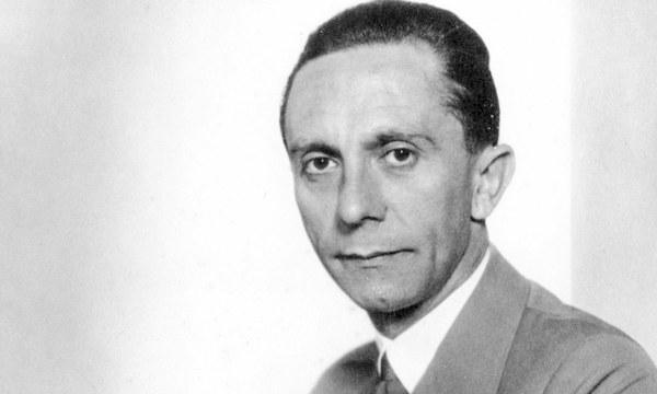 Quem foi Joseph Goebbels, ministro nazista que Roberto Alvim plagiou em seu vídeo