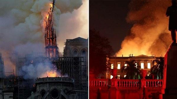 Baixas doações a Museu Nacional geram críticas e comparação com Notre-Dame