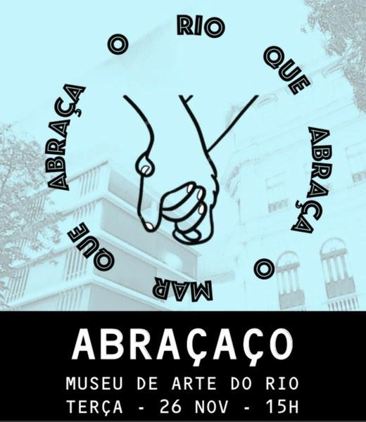 Abraçaço ao MAR (Museu de Arte do Rio) - 26/11/2019