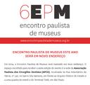 6 Encontro Paulista de Museus | 2 - 4 junho 2014