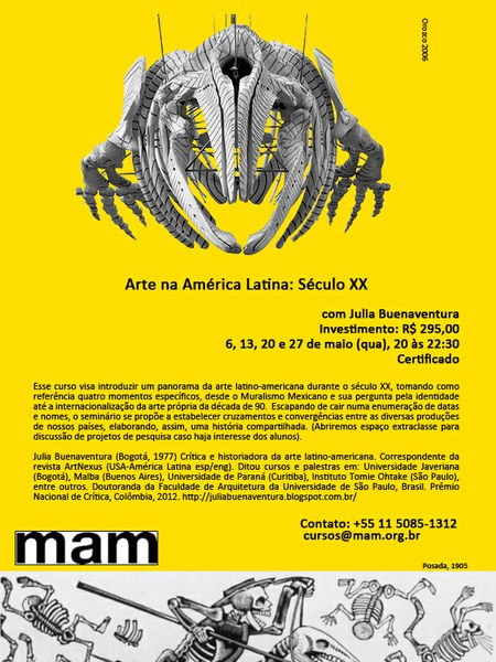 Curso no Museu de Arte Moderna de São Paulo: Arte na América Latina: Século XX