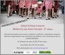 INSCRIÇÕES ABERTAS - Prêmio Funarte Mulheres nas Artes Visuais