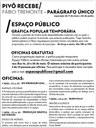 """Pivô: Oficinas Gratuitas integram a exposição """"Parágrafo Único"""" de Fábio Tremonte"""