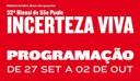32ª Bienal de São Paulo: Programação (27/9 a 2/10)