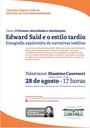 Ecco - Palestra de Massimo Canevacci 28/08/2017