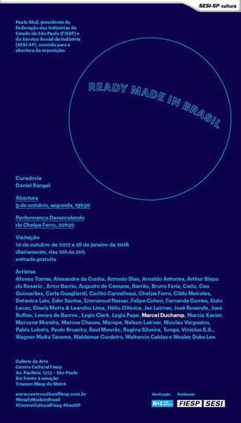 Ready Made in Brasil - Abertura dia 9/10