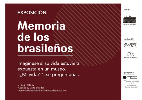 """Exposição """"Memória dos Brasileiros"""" chega a Buenos Aires"""