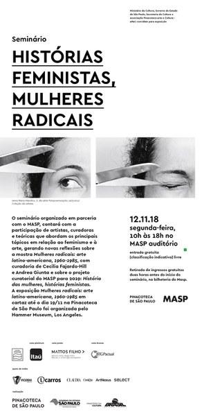 Seminário Histórias Feministas, Mulheres Radicais
