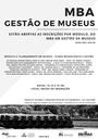 MBA em Gestão de Museus | Módulo ll