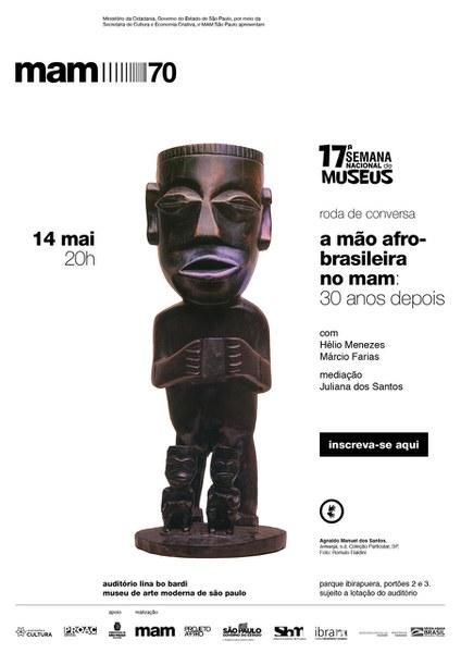 Roda de conversa A Mão Afro-brasileira: 30 anos depois