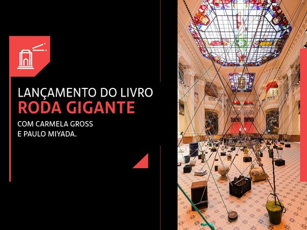Lançamento do Livro Roda Gigante no Farol Santander Porto Alegre
