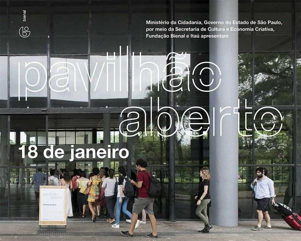SUA PRESENÇA ESTÁ CONFIRMADA NO PAVILHÃO ABERTO DESTE SÁBADO, 18 DE JANEIRO