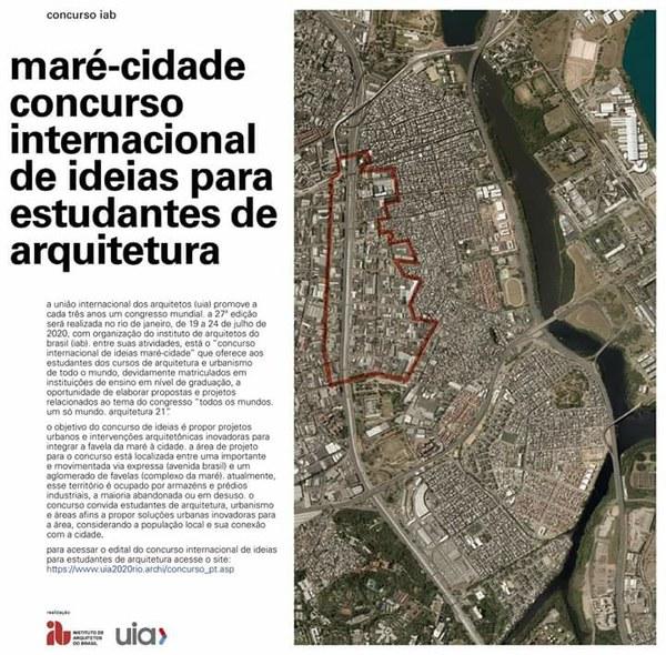 Maré-Cidade Concurso Internacional de Ideias para Estudantes de Arquitetura