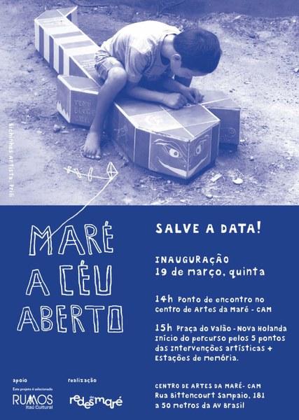 Abertura: MARÉ A CÉU ABERTO 19/03