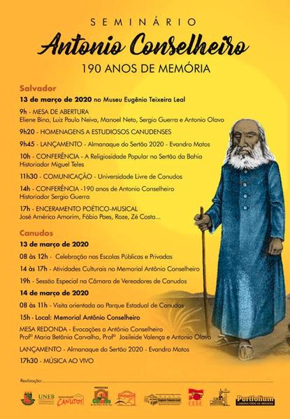 Seminário Antônio Conselheiro - 190 anos de Memória.