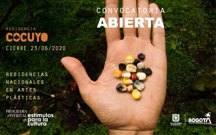 Residencias Nacionales en Artes Plásticas – Residencia Cocuyo
