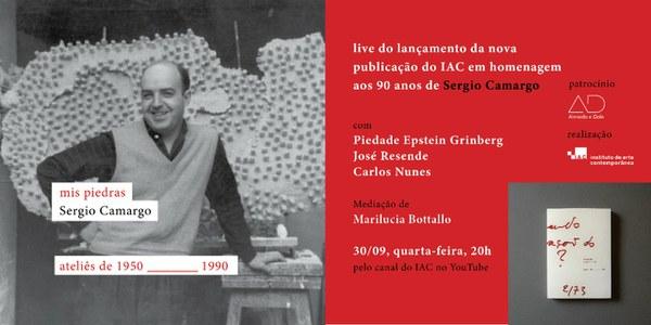 Live de Lançamento: Mis Piedras de Sérgio Camargo