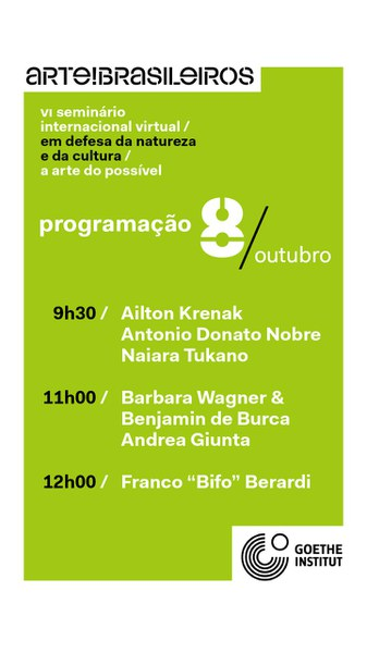 VI Seminário Internacional ARTE!Brasileiros / Goethe-Institut