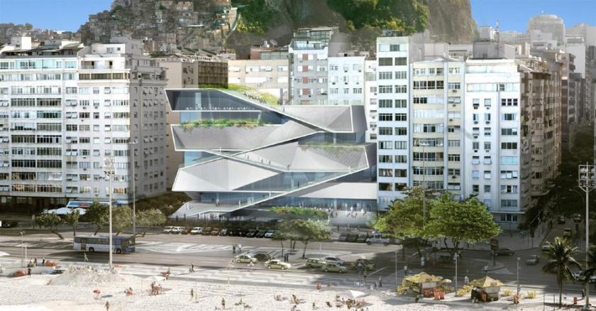 Concurso Internacional – Museu da Imagem e do Som – Rio de Janeiro