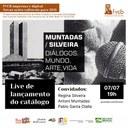Lançamento de catálogo com Antoni Muntadas, Regina Silveira e Pablo Olalla