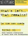 SITAC VI - 6º Simpósio Internacional de Teoria sobre Arte Contemporânea