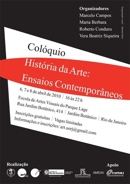 Colóquio - História da Arte: Ensaios Contemporâneos