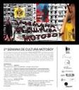 Convite 2ª Semana de Cultura Motoboy