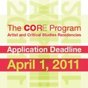 Call for applications - The Core Program: Artist and Critical Studies Residencies