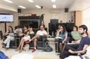 Visão do público – Encontro no IEA 13/09 -–  Foto: Maria Leonor de Calasans