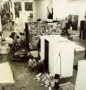 Vista da montagem da exposição Jovem Arte Contemporânea no MAC USP em 1972