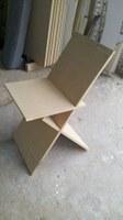 Gabarito de montagem da cadeira